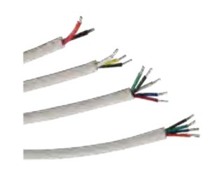 White Cables - Power Cords Cable Grippers